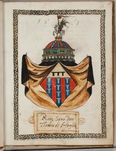 Wapen Theodora van Haeften 1583