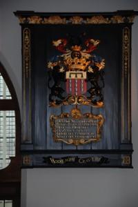 Baron Reinier van Haeften (25 april 1646-24 januari 1733) in de kerk Ophemert